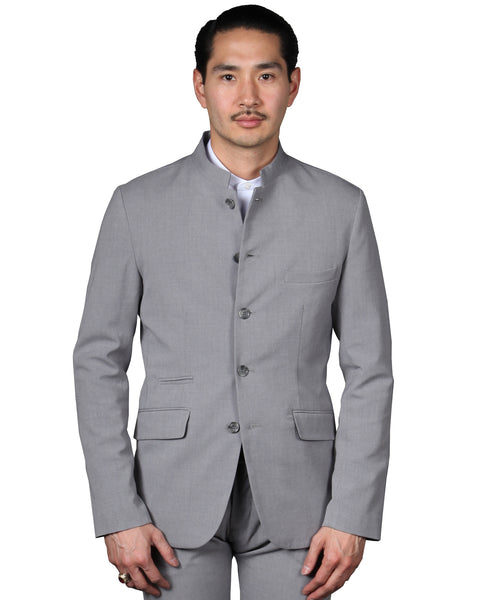 IRVING 18 // LT. GREY Men's Sport Coat By Robert James