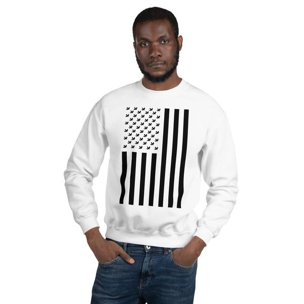 New  BRJ PEACE FLAG ( Clean) //  Unisex Sweatshirt