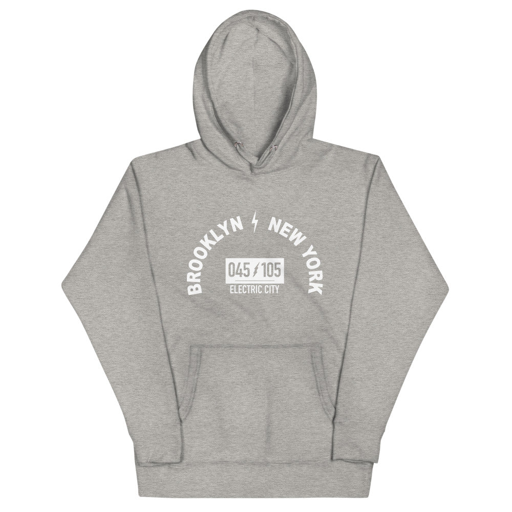 BRJ BROOKLYN ELELECTRIC CITY / Unisex Hoodie