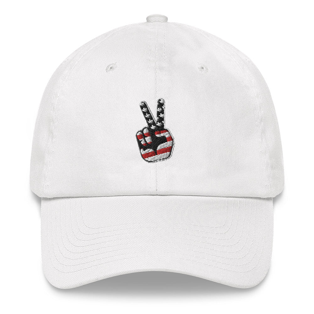 BRJ PEACE OUT BLACK / Dad hat