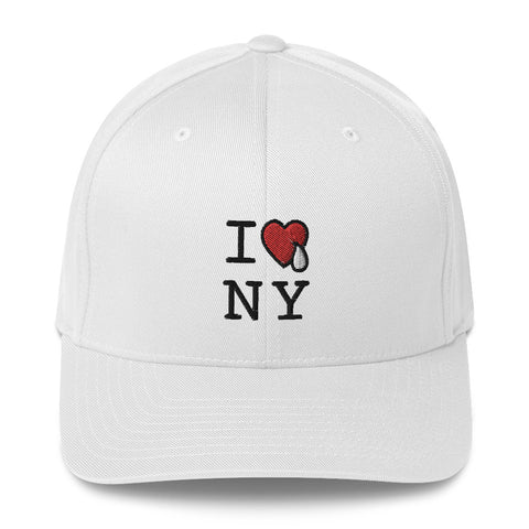 I HEARTV& TEAR NY / FLEX FIT HAT