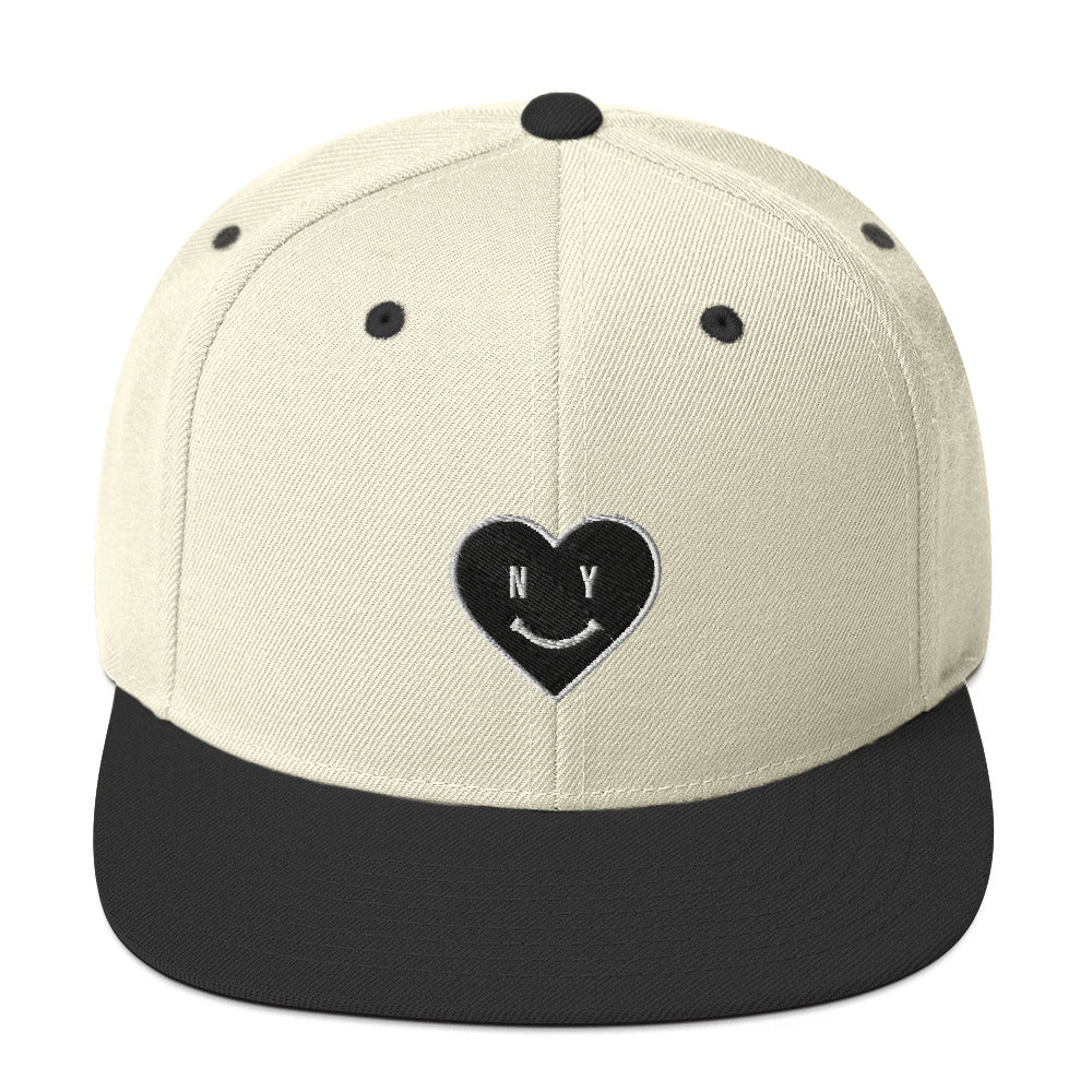 BRJ LOVE NY EMBROIDERY / Snapback Hat
