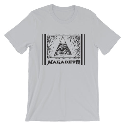 BRJ MAGADETH $$$ // Short-Sleeve Unisex T-Shirt