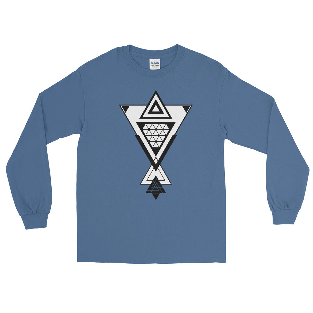 BRJ TRIANGLES // Long Sleeve T-Shirt