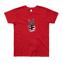 NYKiDs Peace Out / Youth Short Sleeve T-Shirt
