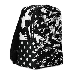 BLACK MAMBA DOT CAMO /. Minimalist Backpack