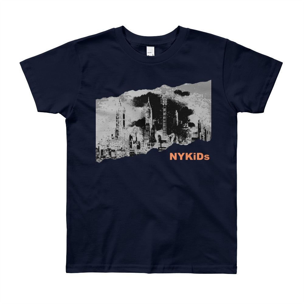 NYKiDs INDIE Rock City / Youth Short Sleeve T-Shirt