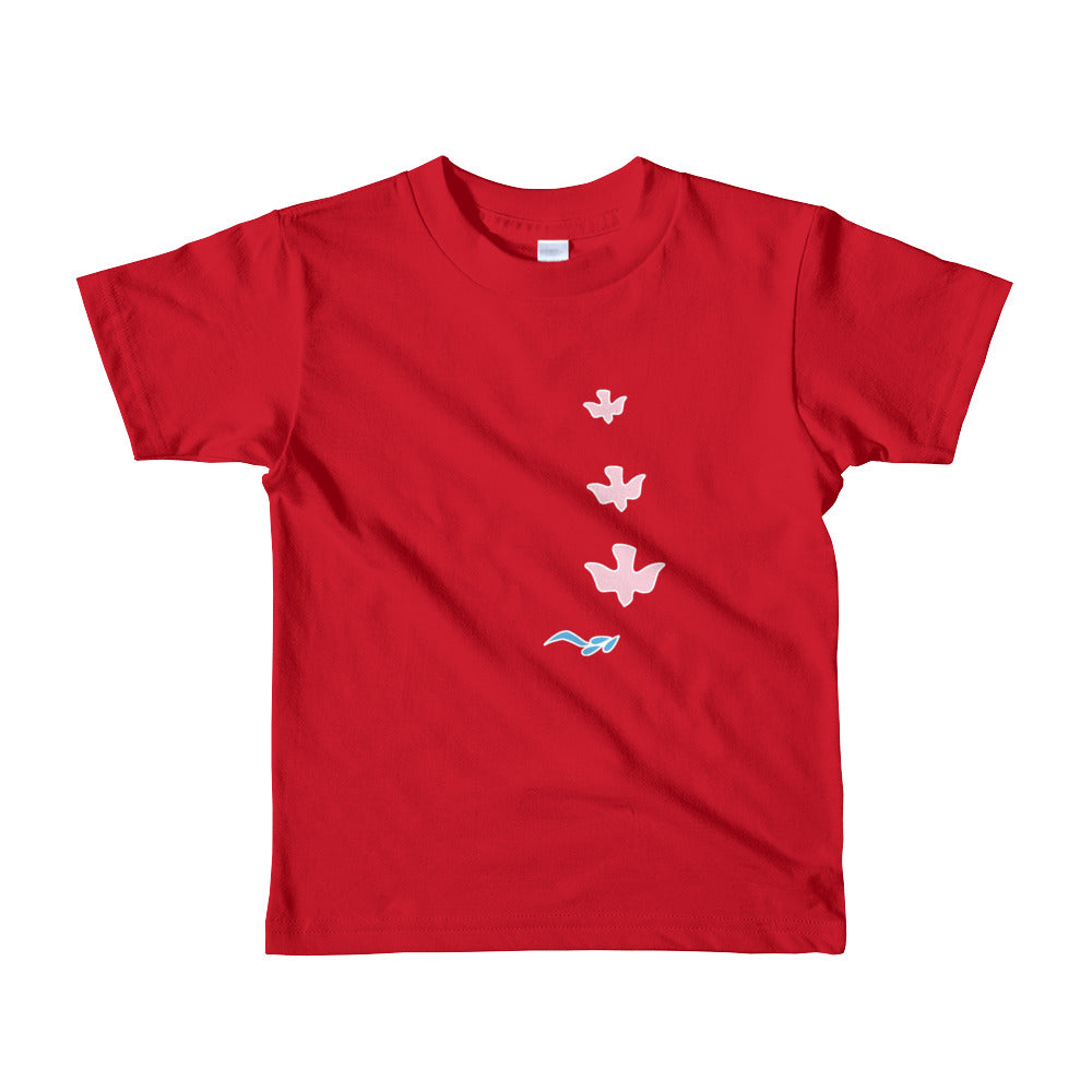 NYKiDs DOWNWARD DOVE / Short sleeve kids t-shirt