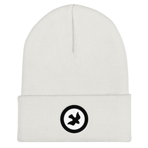 BRJ Peace DOVE  Icon.// Cuffed Beanie