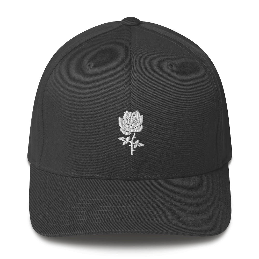 THORNY ROSE// Structured FLEX FIT Twill Cap