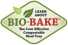 Learn About Bio-Bake The Cost-Effective Compostable Meal Tray