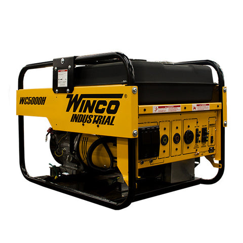 Winco WC5000H Gasoline Portable Generator