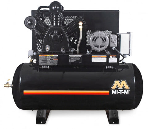 Mi-T-M 120 Gal Electric Two Stage Air Compressor: AES-23315-120H