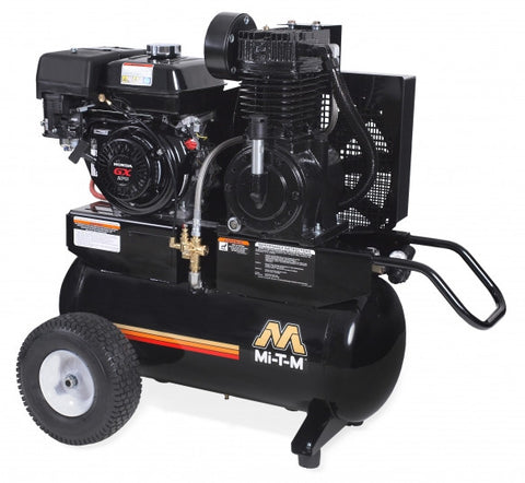 Mi-T-M 20.0 Gal Gasoline Two-Stage Air Compressor (Honda) AM2-PH09-20M