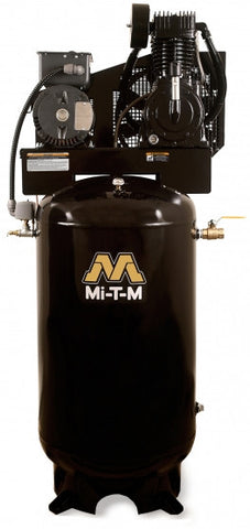 Mi-T-M 80.0 Gal Electric Two Stage Vertical Air Compressor: AAS-23105-80V