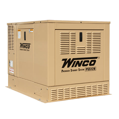 Winco PSS12H4W Packaged Home Standby Generator (12KW)