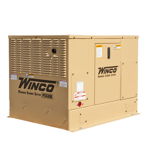 Winco PSS8B4W Packaged Home Standby Generator (8KW)