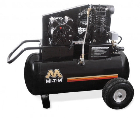 Mi-T-M 20.0 Gal Electric Single Stage Air Compressor: AM1-PE15-20M