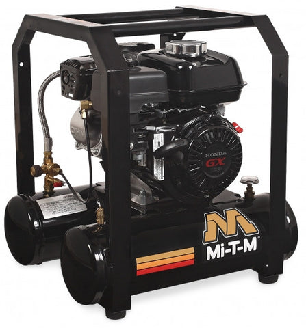 Mi-T-M 5.0 Gal Gasoline Single Stage Air Compressor (Honda) AM1-HH04-05M