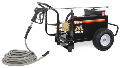 Mi-T-M 2400 PSI Electric/ Belt Drive (230V): CW-2405-4ME1