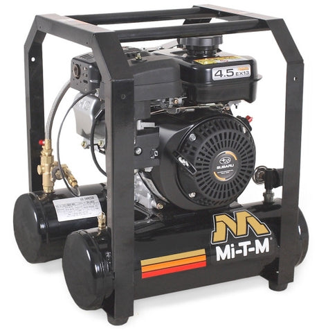 Mi-T-M 5.0 Gal Gasoline Single Stage Air Compressor (Subaru) AM1-HS45-05M