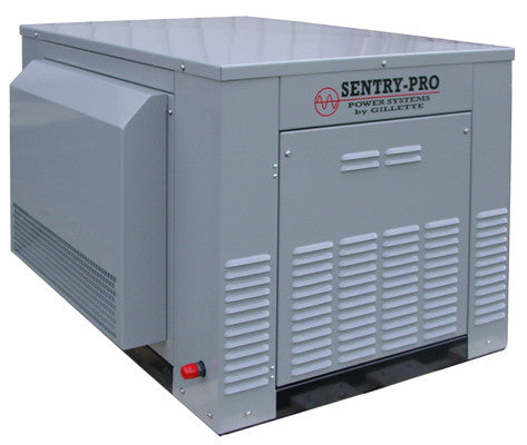 Gillette 12kW Gaseous Standby Generator: SPS-120