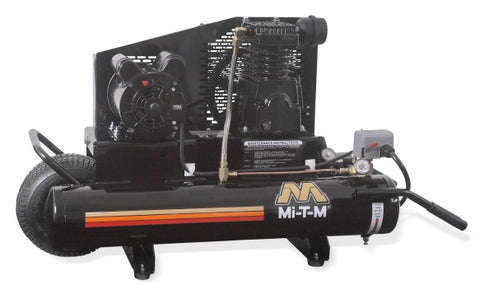 Mi-T-M 8.0 Gal Electric Single Stage Air Compressor: AM1-PE15-08M