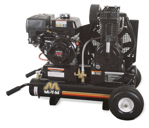 Mi-T-M 8.0 Gal Gasoline Two-Stage Air Compressor (Honda) AM2-PH09-08M