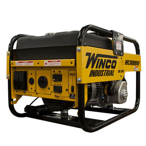 Winco WC10000VE Gasoline Portable Generator
