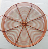 copper tray / plateau cuivre