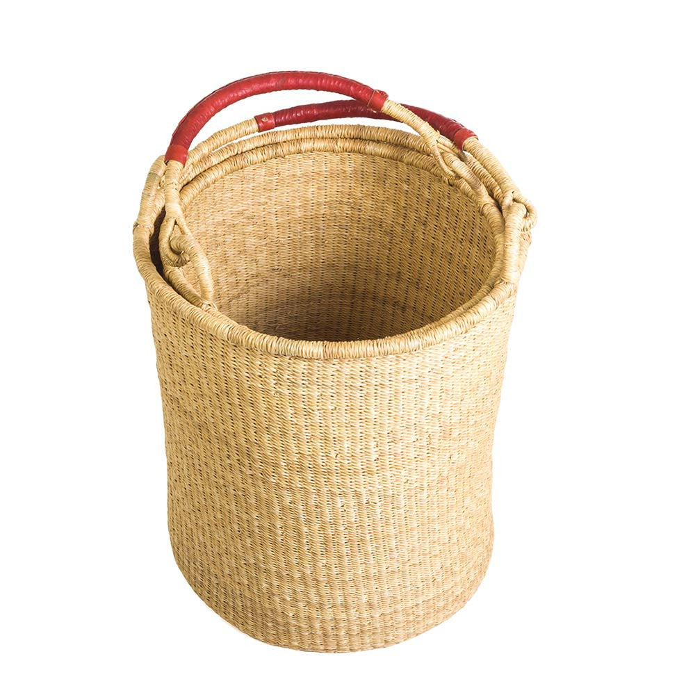 Natural Bolga Hamper Basket Set
