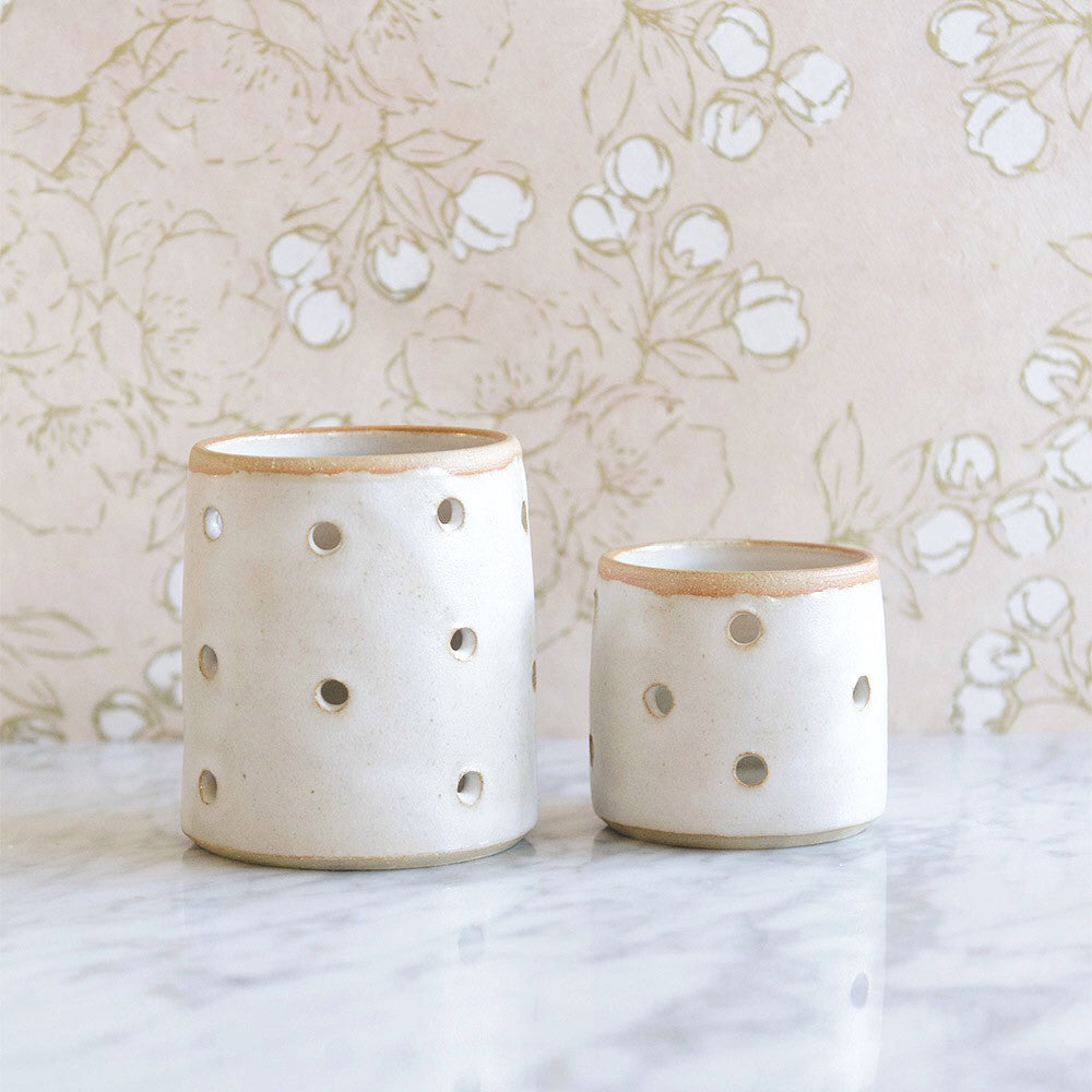 Ceramic Stoneware Votive - Small
