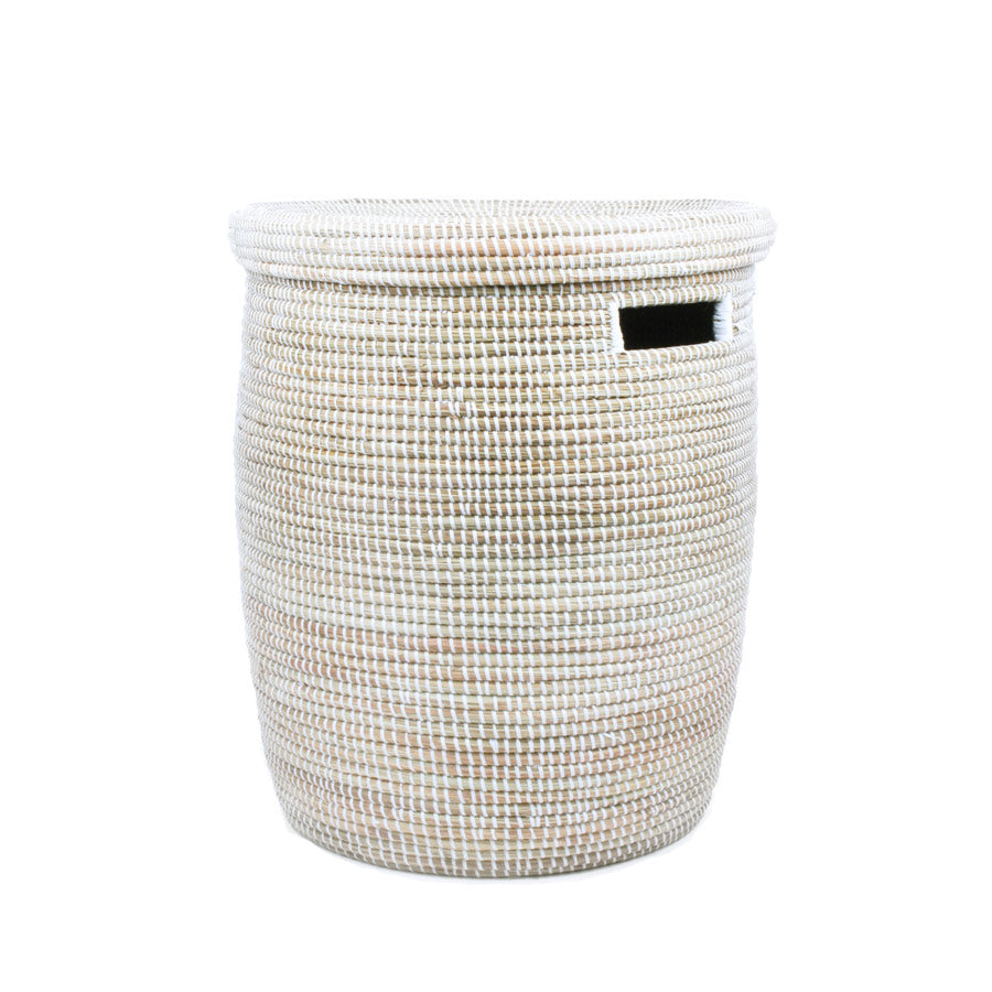 Flat Lid Woven Storage Laundry Basket Connectedgoods Com