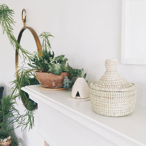 Woven African Storage Baskets And Hampers Connectedgoods Com
