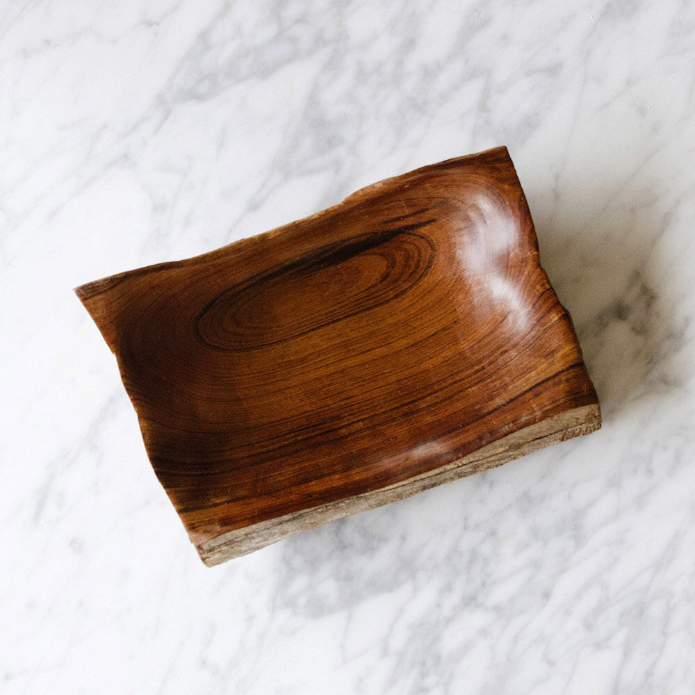 Handcrafted Natural African Sandalwood Tray