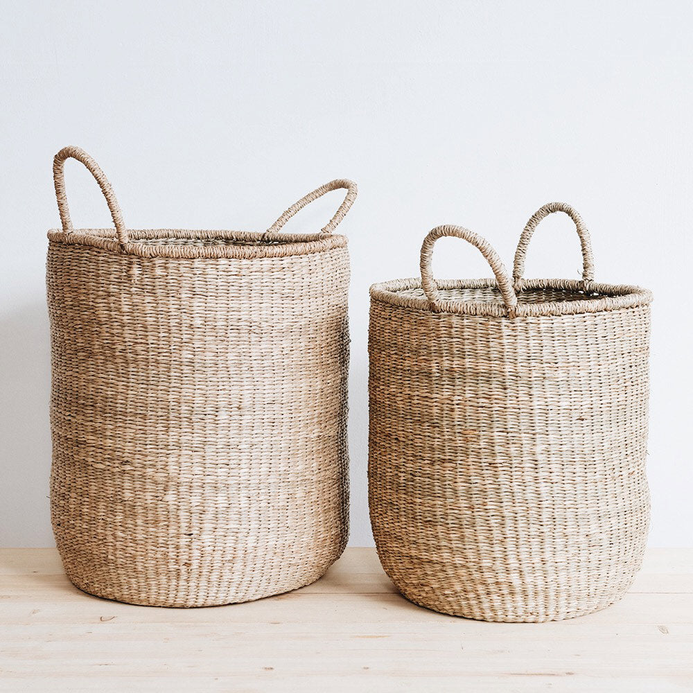 Handwoven Hampers and Storage Baskets