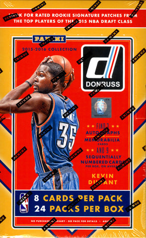 15-16 Panini Donruss Basketball