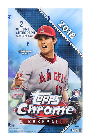2018 Chrome Baseball