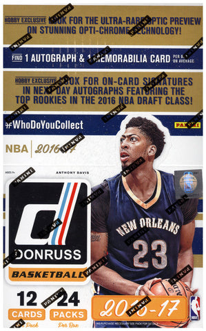 16-17 Panini Donruss Basketball Hobby Box