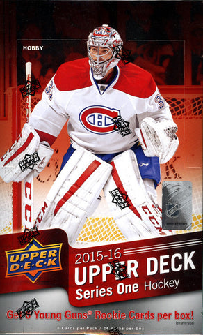 15-16 Upper Deck Series One Hockey Hobby Box