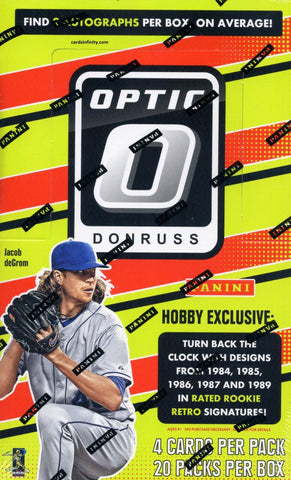 Donruss Optic Baseball 2016