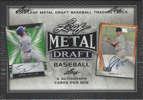 Leaf Metal Draft Baseball 2019