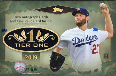Tier One Baseball 2019