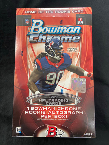 2014 Bowman Chrome Football