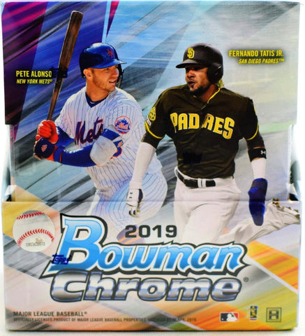 Bowman Chrome Baseball 2019