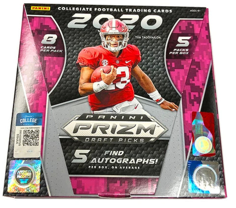 2020 Draft Pick Prizm Football