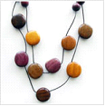 Handmade Necklace from salvaged wood