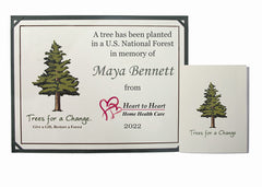 Business Memorial Tree Gift