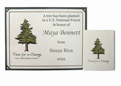 Personalized Tree Gift