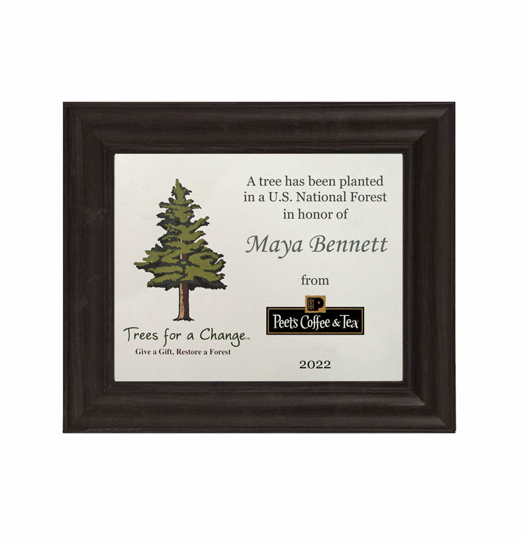 Framed Personalized Business Gift